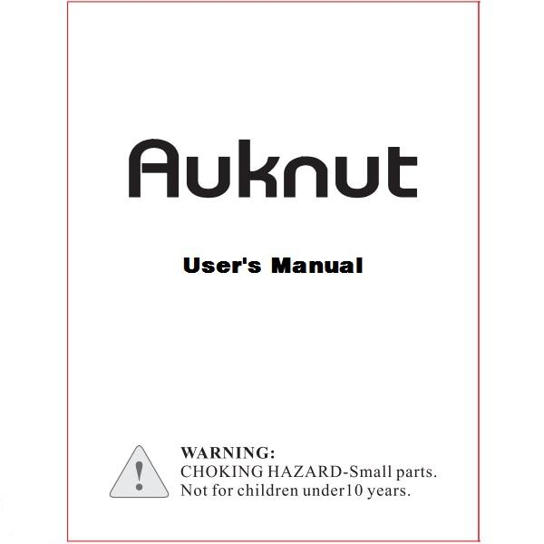 Auknut250  Manual